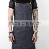 Custom high quality durable denim work apron