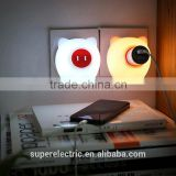 Professional design fashional cheap wall plug in night light eco-friendly cute night lamps