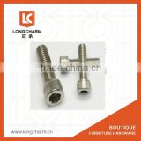 M8 hexagon socket screw inside kexagonal bolt hex wrech and allen key from Guangzhou hardware suppliers
