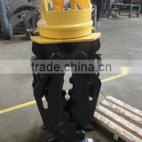 Excavator grab rotating bucket grapple for excavator 10tons