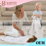 hot sale baby custom print muslin blanket with high quality                                                                         Quality Choice