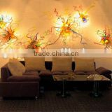 2014 hot sale modern art blown glass wall lighting xo-42 and Art Deco Wall Fixture lighting