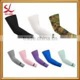 Promotion 1 Pair Compression Arm Sleeve Cooling UV Skin Cover Basketball Cycling Golf