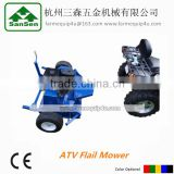 ATV Flail Mower with Gasoline Engine; Mower for tractor or ATVs, Tow behind flail mower; ATV Mower