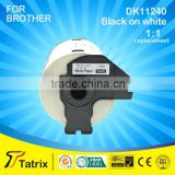 DK11240 Label tape for Brother label in printer ribbons compatible for Brotherprinter QL-1060N,QL-1050