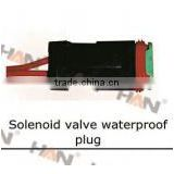 SOLENOID VALVE WATERPROOF PLUG Concrete Pump spare parts for Putzmeister JUNJIN Schwing Sany