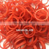 Supply small loom rubber bands - HOT cheap price small circular loom band glitter rubber band natural