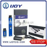 High Quality IJOY Slimmest SS ITOP electronic cigarette Variable Wattage e cigarette ijoy vaporizer k1000