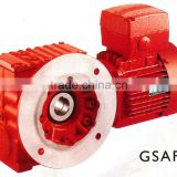 China Guomao S series Helical-Worm Vertical shaft gear motor for Iron and Steel Industry