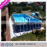 Unique workmanship intex frame pool/outdoor potable swimming pool/water park pool