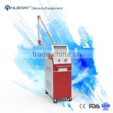 Wavelength 1064nm 532 nm Q switch nd yag laser pulsed dye laser for tattoo removal vascular and skin rejuvenation