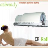 far infrared sauna dome /sauna wooden frame equipment