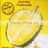 Premium fruit juice, Thai Tastes Durian fruit drink natural product with high quality Instant powder drink antioxidant added nut