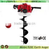 Garden Tools Hand Post Hole Digging machine 52cc post hole diggers