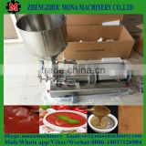 Hot high stability peanut butter/ salad dressing ketchu filling machine with daily used material
