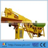 YHZS75 electric mobile concrete mixing plant machine in construction machinery