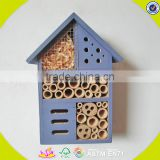 2017 New design wooden insect house mini wooden insect house newly wooden insect house W06F029