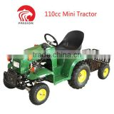 2017 Hottest 110cc garden tractor new cheap with trailer