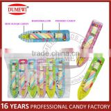 NEW Candy Product Pen Shaped Packaging Fruit Marshmallow