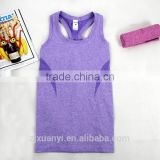 High quality stringer tank top wholesale 100% Cotton Quick Dry Women Gym Sport vest Top Active Fitness camisole