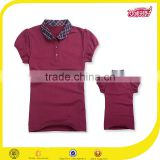 school uniform materials dri fit polo shirt pique fabric 100% cotton unbranded cricket sports shirt