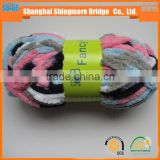 China novelty yarn factory cheap wholesale 100 polyester knitting chenille yarn for knitting scarf in low yarn price