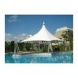 High Peak Steel Frame Swimming Pool Tents Fabric Roof Structures Permanent