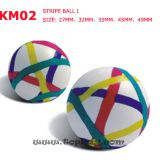 Hi bounce ball, stripe bounce ball, super ball,  capsule toy
