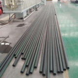 UHMW PE pipe to replace teel pipe to convey crude oil and sewage in petroleum field