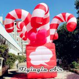 Red Inflatable Candy Box for Christmas Decoration
