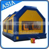 PVC Tarpaulin Inflatable Paintball Tent / Outdoor Inflatable Tent For Paintball Event
