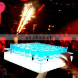 INquiry about acrylic made led shot glass serving tray