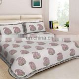 Vintage Designer Traditional Luxury Look bedsheet Indian Ethnic Handicraft Wholesale Hotel Home Cotton bedding set