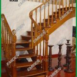 Shenzhen Yimeiden Stairs Supply Complete Duplex Villa Solid Wood Stairs YMD-1922