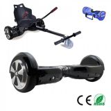 6.5 Inch Swegway Segway Electric Hoverboard + HoverKart Bundle - Black - iHoverboard.co.uk