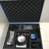 handheld water flow meter portable ultrasonic flowmeter