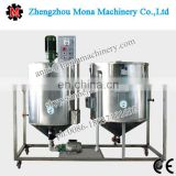 Small scale edible oil refining machine Usage and New Condition peanut oil refinery