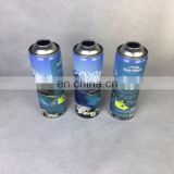 65*168mm portable oxygen cans with mask (plus valve, nozzle, artwork printing)