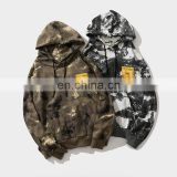 Wholesale custom plain pullover camouflage hoodie