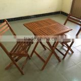 2015 BEST SALE, made in vietnam table and chair - wooden bistro set - house furniture made in from factory