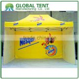Custom Print Aluminum Pop Up Marquee Tent Frame 3x4.5m ( 10ft X 15 ft), with 3 full walls