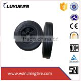 13*3 solid rubber wheelbarrow wheel made in Qingdao, 12 inch wheelbarrow tyre
