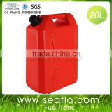 Gasoline Can Jerrycan 20L 5.3 Gallon Plastic Tank For Boat Yatch Truck