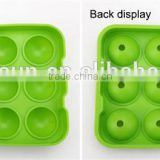 silicone ice ball maker for custom silicone ice ball mold