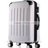 20'' ABS Aluminium Alloy Polyester Lining Travel Trolley Luggage Bag