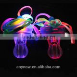 Baby toys Luminous LED pacifier whistle for family