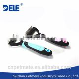 2015 new grooming brush pet cleaning dog deshedding tool