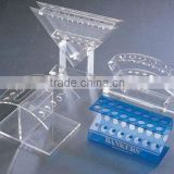 promotional acrylic pen display rack for retail sationary stores makeup brush/eyebrow pencil/e-cigarette display stand