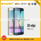 For Samsung Galaxy S6 edge tempered glass screen protector Curved design with retail package