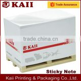 pallet sticky note for transportation (logistics) company with logo printed fast delivery